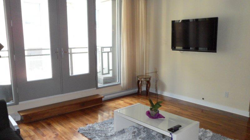 Condo luxueux vieux montreal meuble ou non meuble for Meuble contemporain montreal
