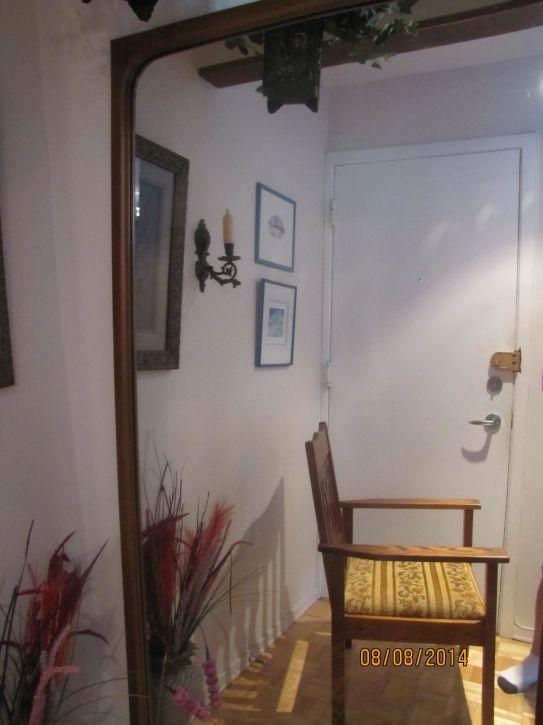 Miroir grand format sur bois achat vente d coration for Miroir montreal