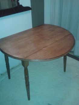 TABLE A BATTANT ANTIQUE-thumb