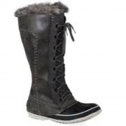 Bottes Sorel `` Cate the Great`` Noire Pointure 9-thumb