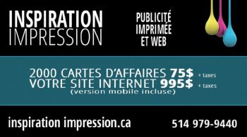 Carte d'affaire, impression, conception, logo, site internet-thumb